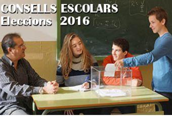 Consells Escolars de Centre. Eleccions 2016