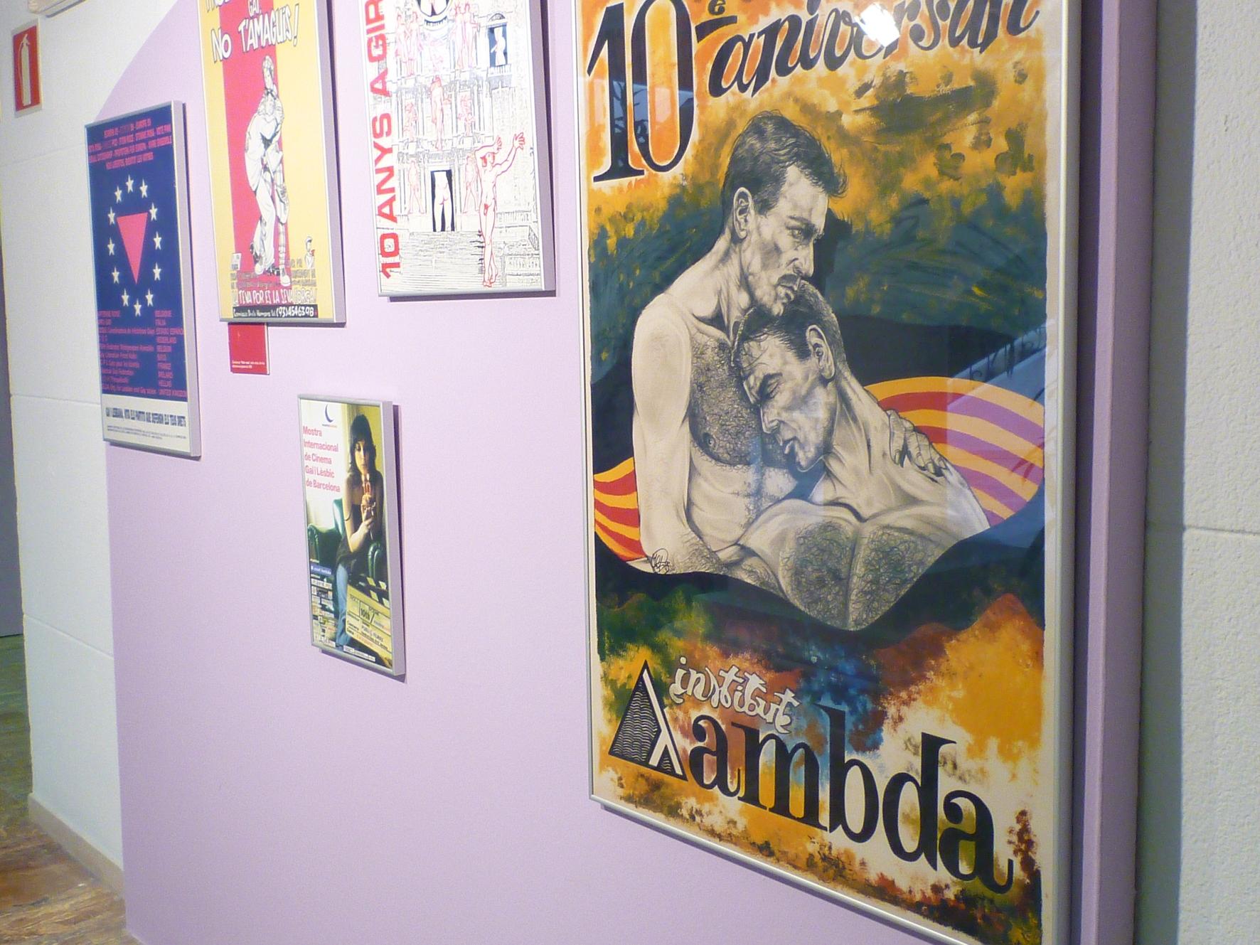 Alguns cartells de la mostra. Foto Generalitat de Catalunya