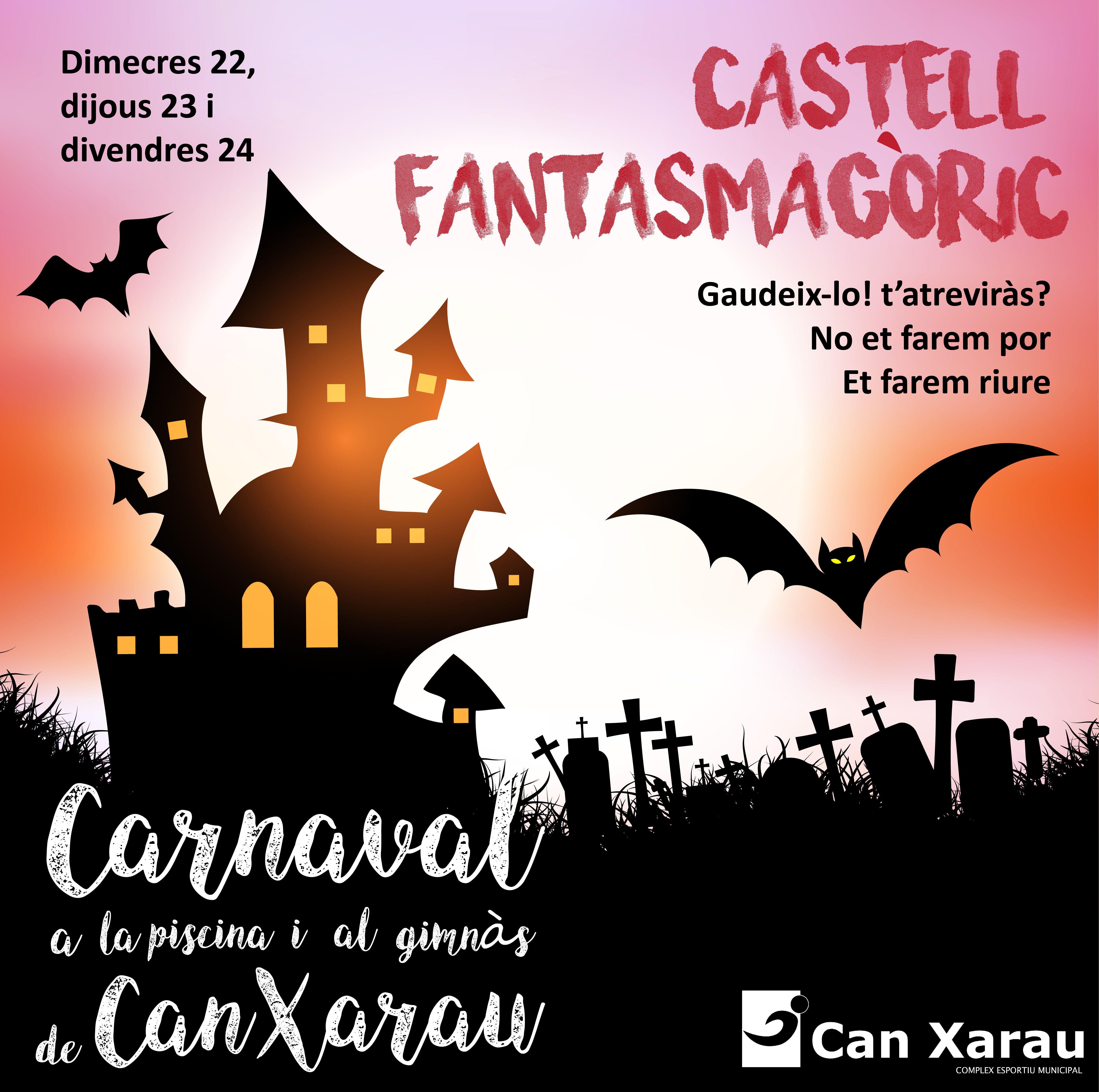 Can Xarau esdevindrà un castell fantasmagòric