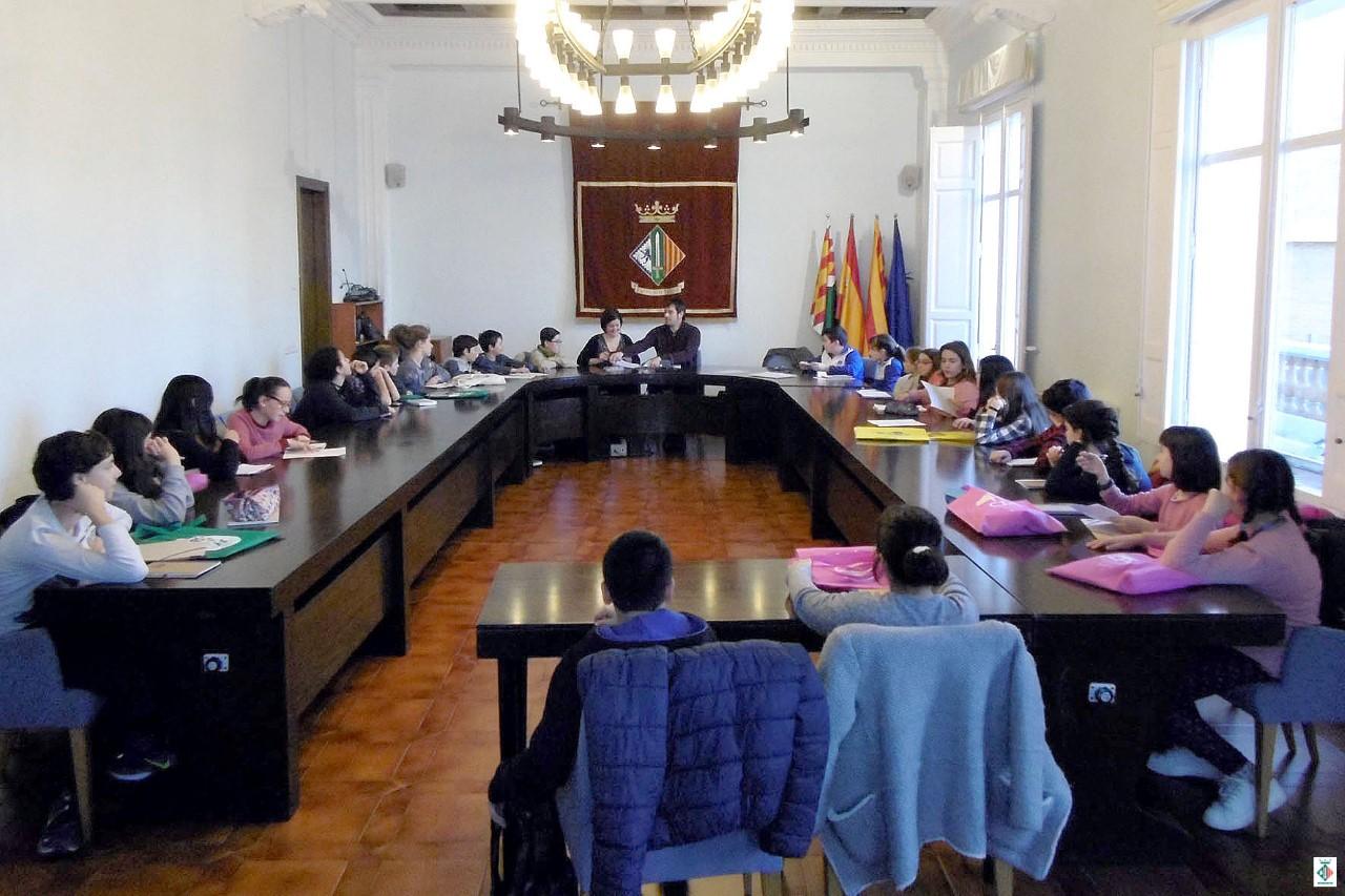 Plenari del Consell d'Infants i d'Adolescents