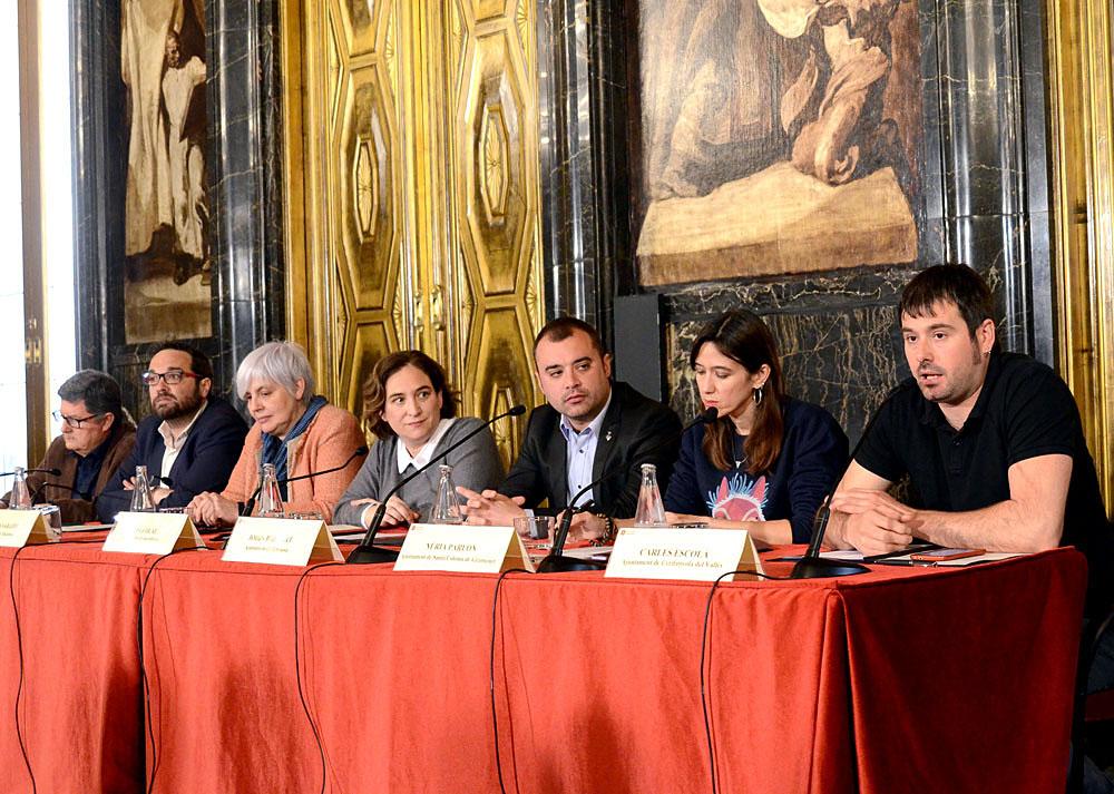 Alcaldes dels municipis que formen l'Associació per la Gestió Pública de l'Aigua