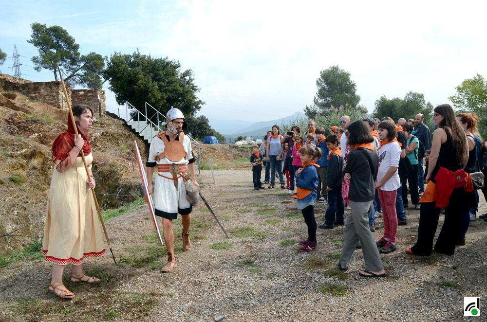 Na Betinin i en Bilos, habitants de ca n'Oliver i pregoners del Roser 2017