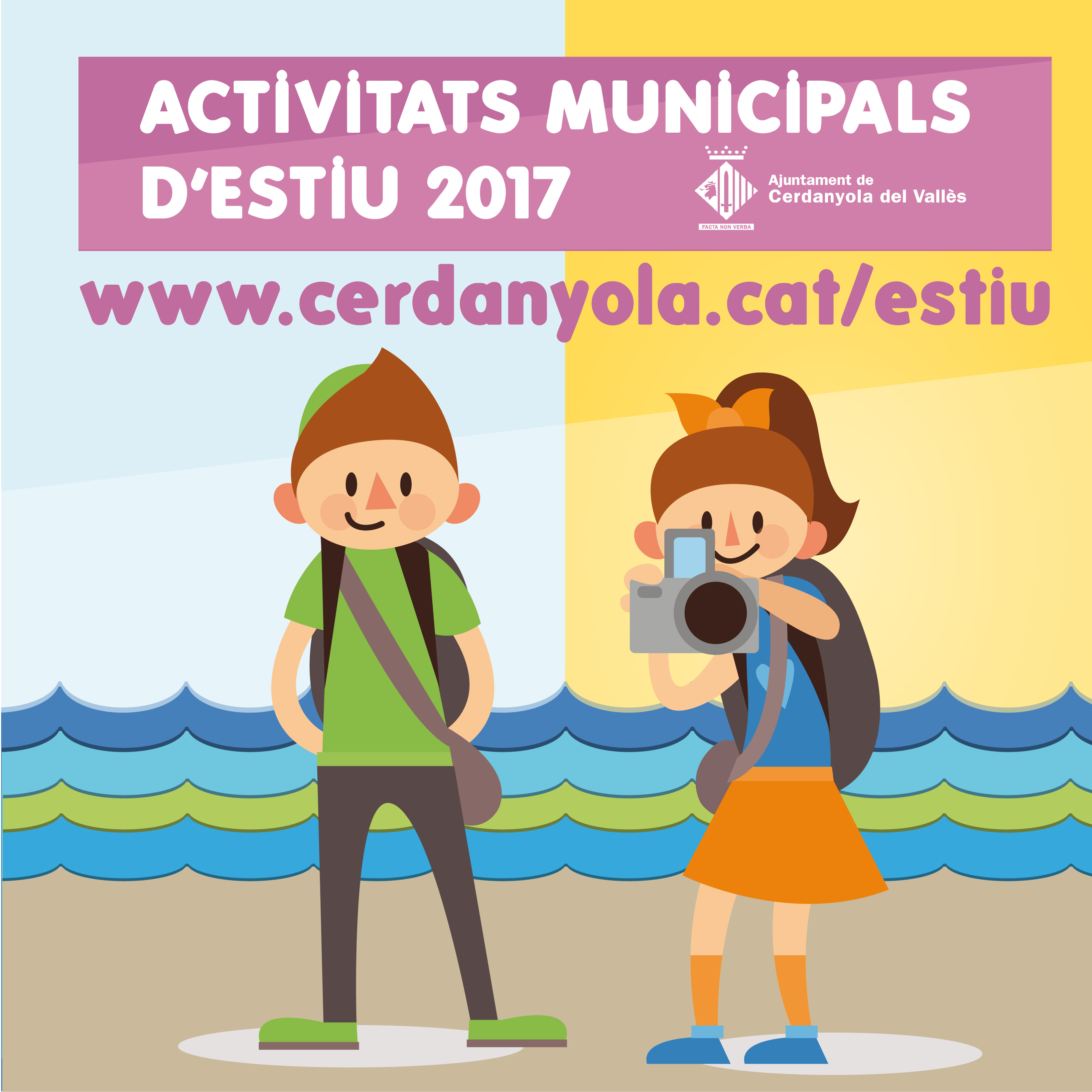 Els serveis municipals ofereixen més d'una desena d'activitats per fer aquest estiu