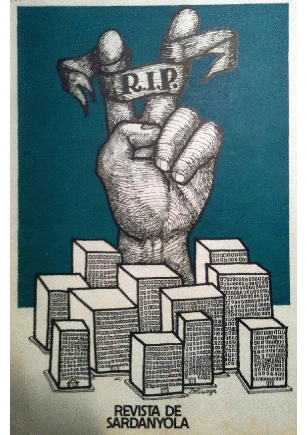 Il·lustració satírica publicada a la Revista Sardanyola