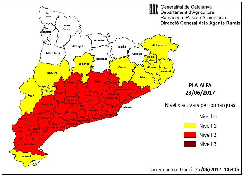 Mapa pla Alfa
