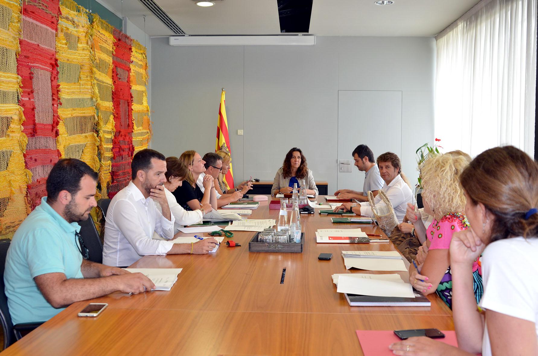 Moment de la reunió del CIT, celebrada a Sant Cugat del Vallès