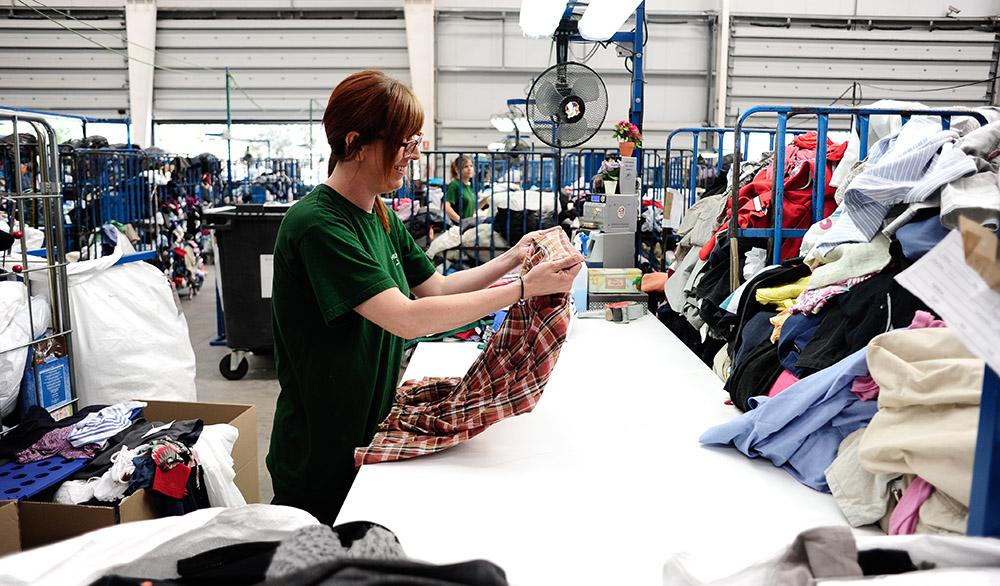 Classificant la roba recollida
