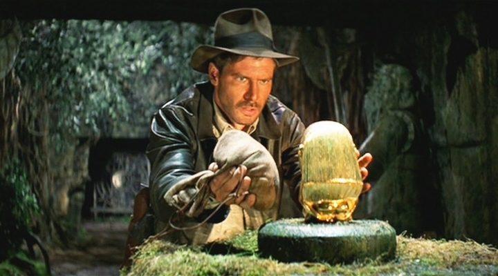 Fotograma d'una de les pel·lícules d'Indiana Jones