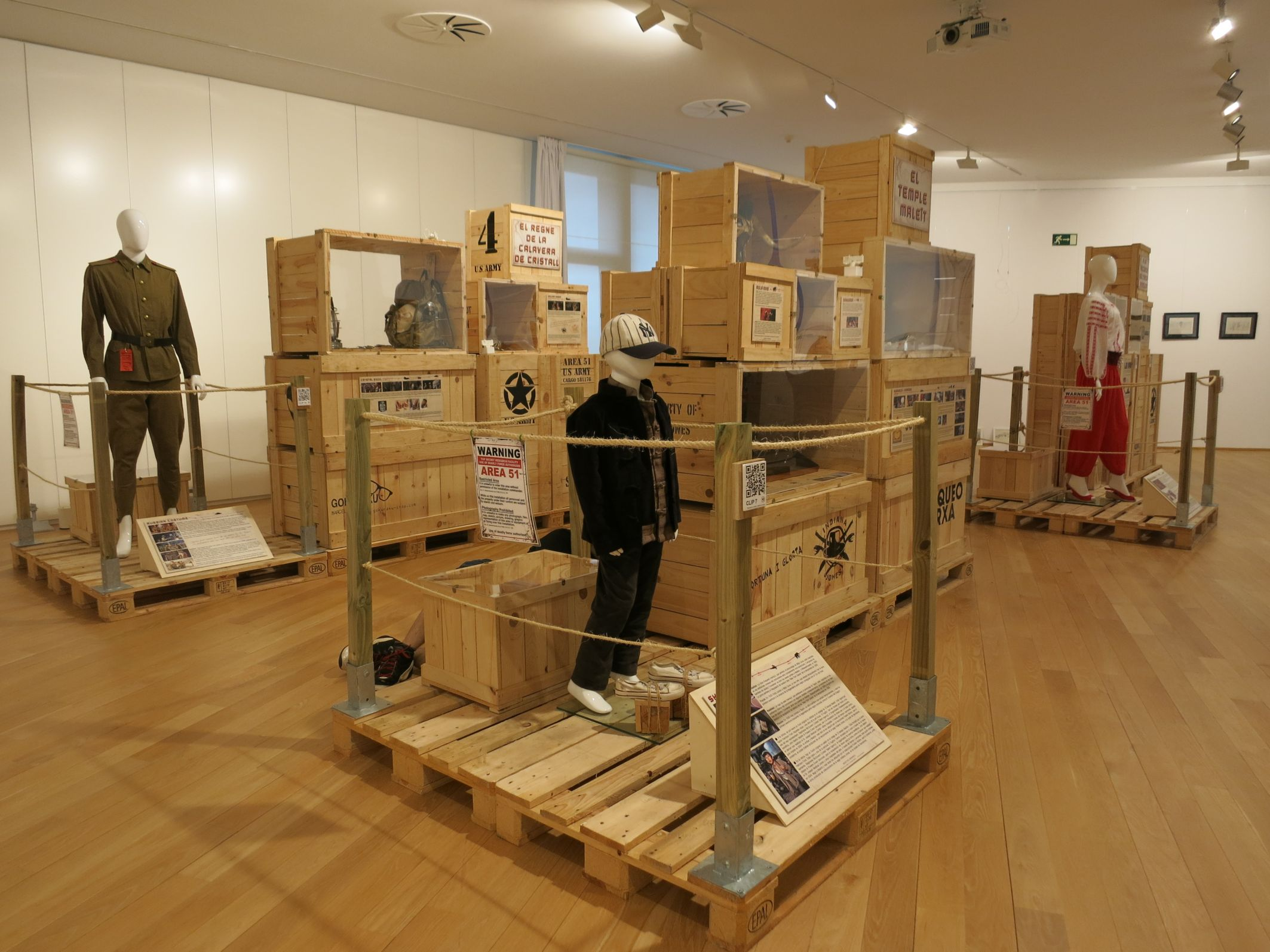 Vista de l'exposició que es podrà visitar a partir del 7 de setembre al Museu de ca n'Ortadó