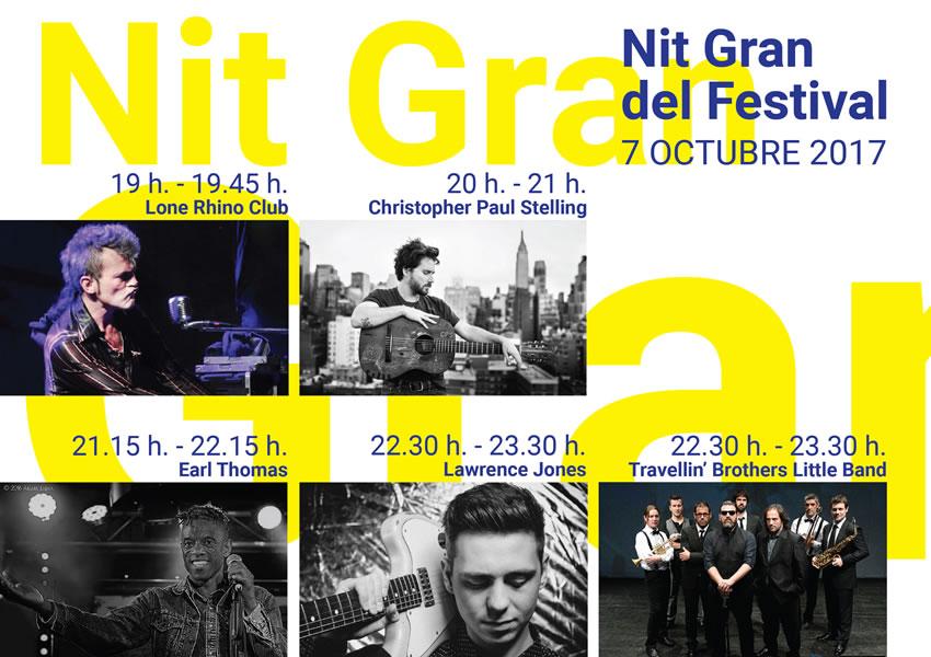Cartell de la Nit Gran del Festival