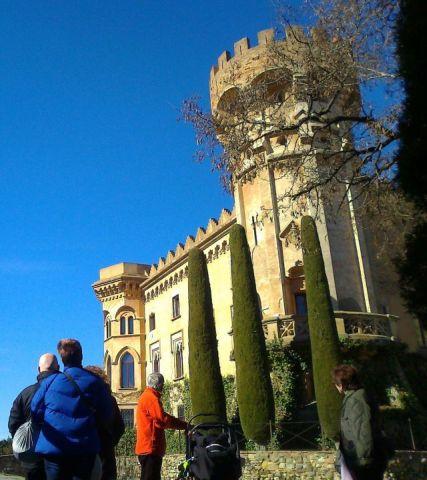 Visita al castell de Sant Marçal