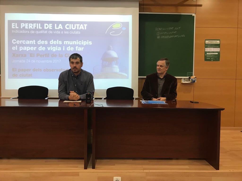 L'Alcalde, Carles Escolà, va fer el discurs d'obertura de la Jornada