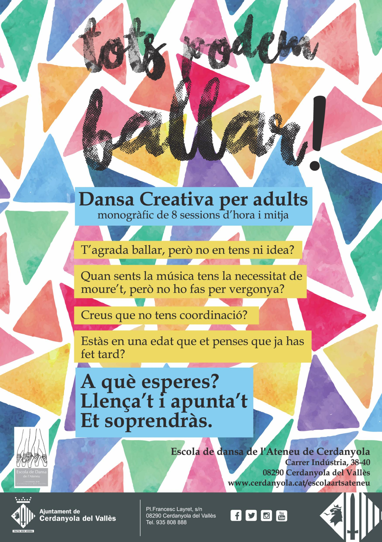 Cartell de promoció del taller