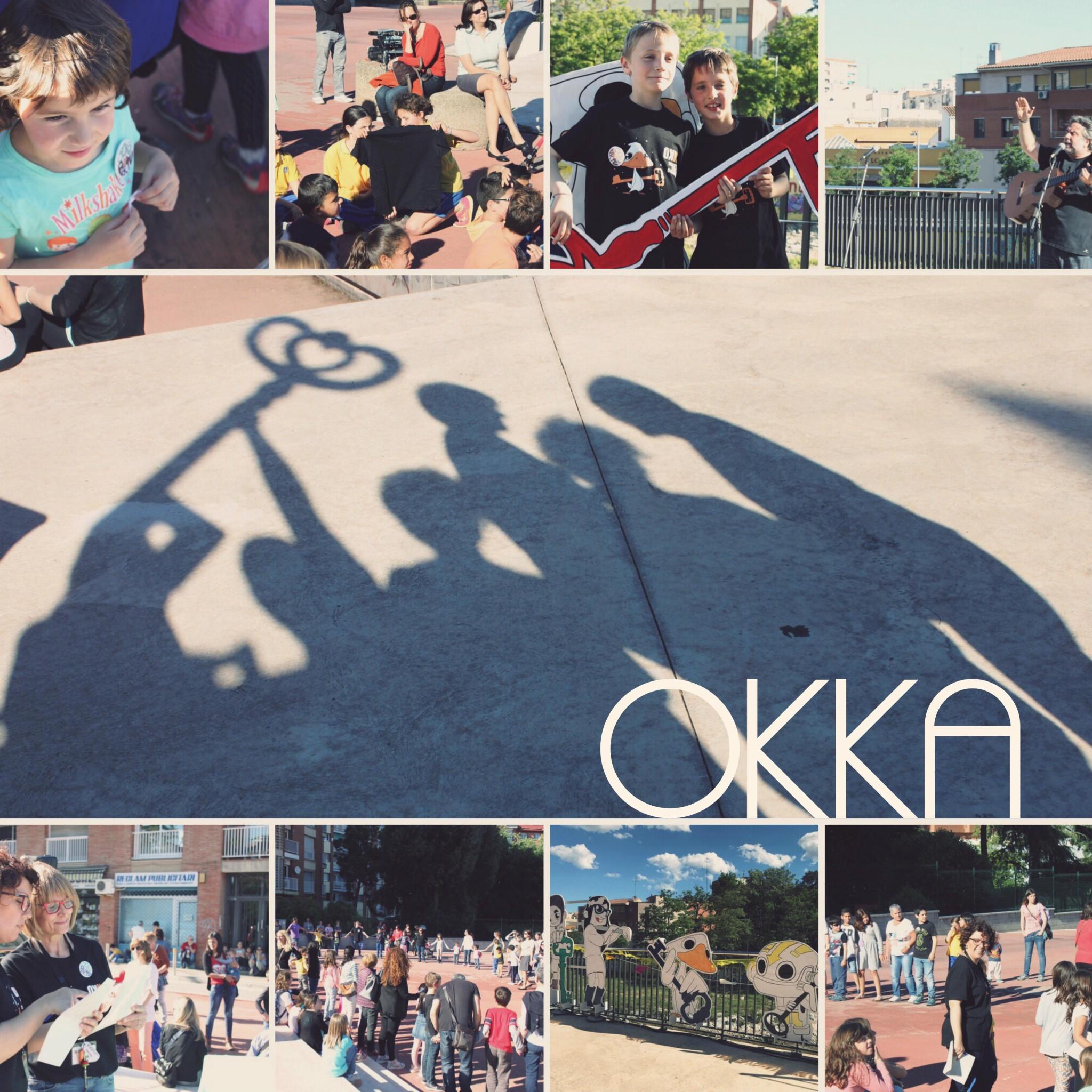 Composició amb instantànies de la Festa de l'Okka de l'any passat