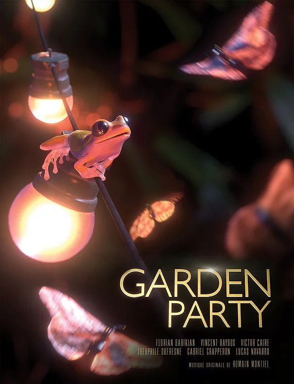 Cartell del curt Garden Party