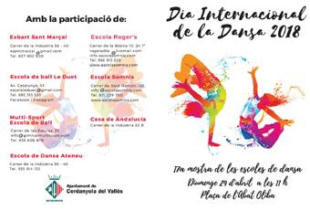 Cartell Dia Internacional Dansa Cerdanyola