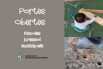 Cartell Portes Obertes escoles bressol municipals