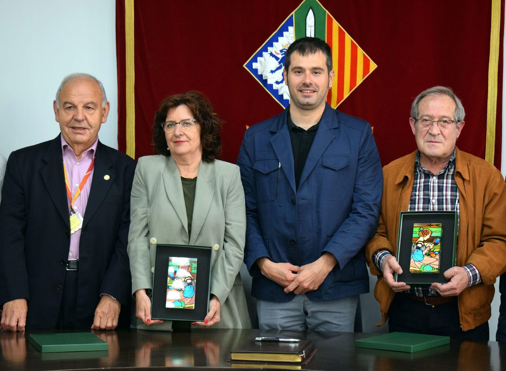 José Aguayos, Mariví Broto, Carles Escolà i Antonio del Río