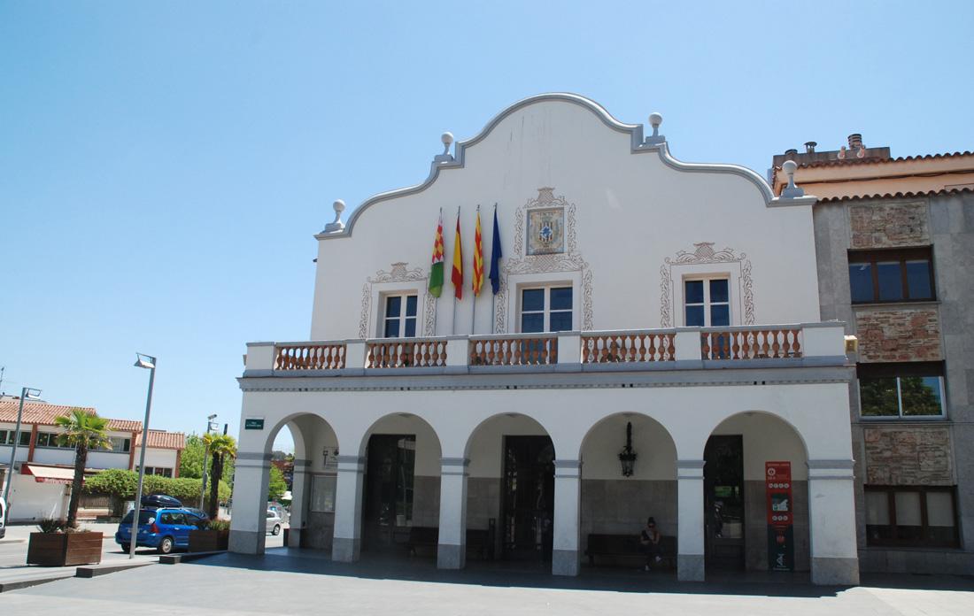 Façana de la Casa Gran