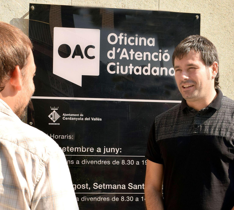 L'alcalde Carles Escolà ha presentat la nova campanya d'ajudes per a fer front a l'IBI