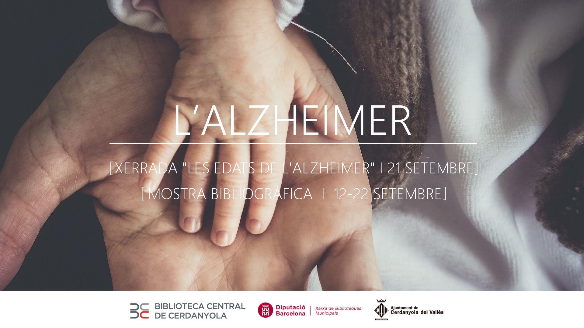 Cartell dels actes del Dia Mundial de l'Alzheimer a la BCC