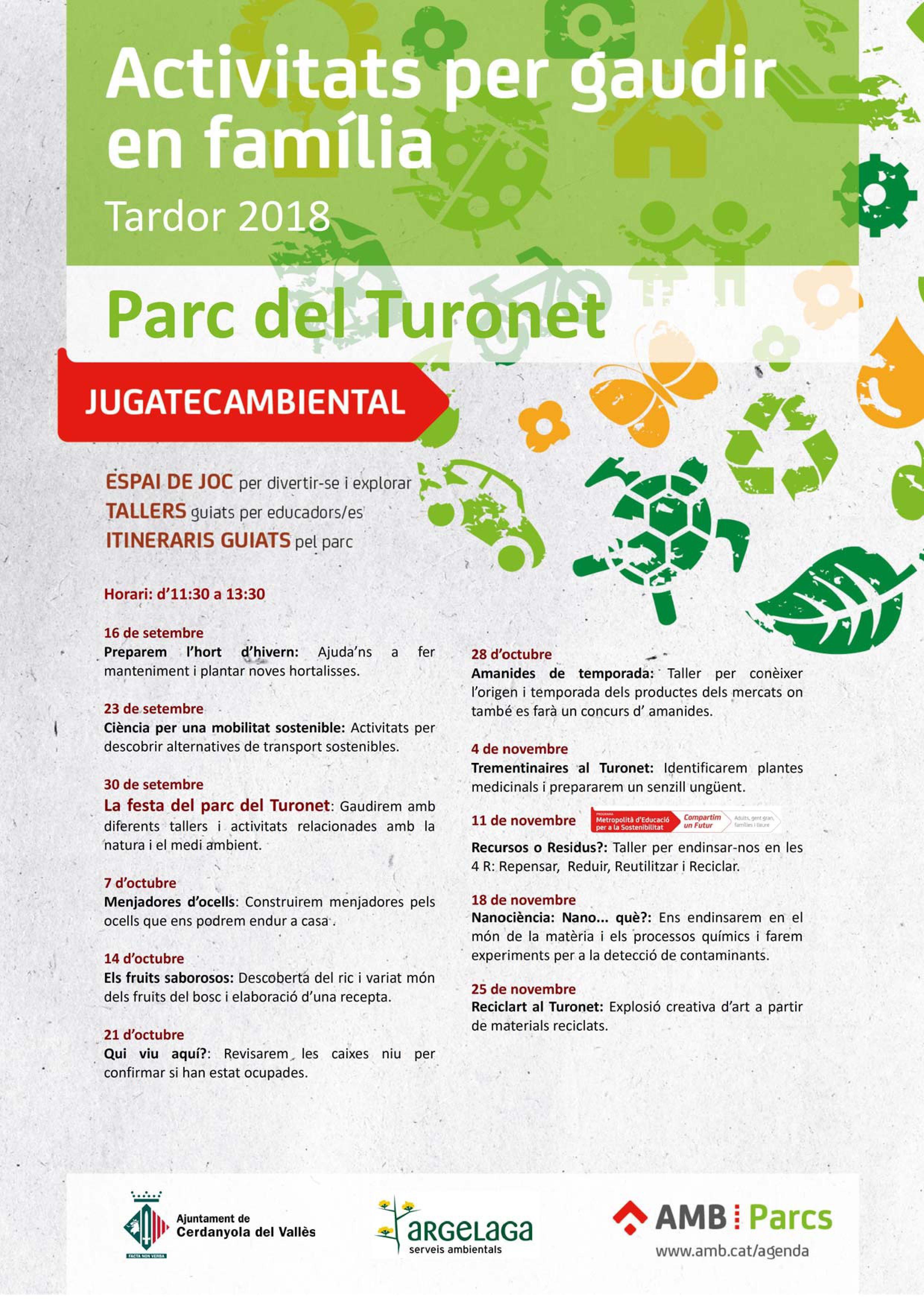 Cartell de la nova temporada de la Jugatecambiental