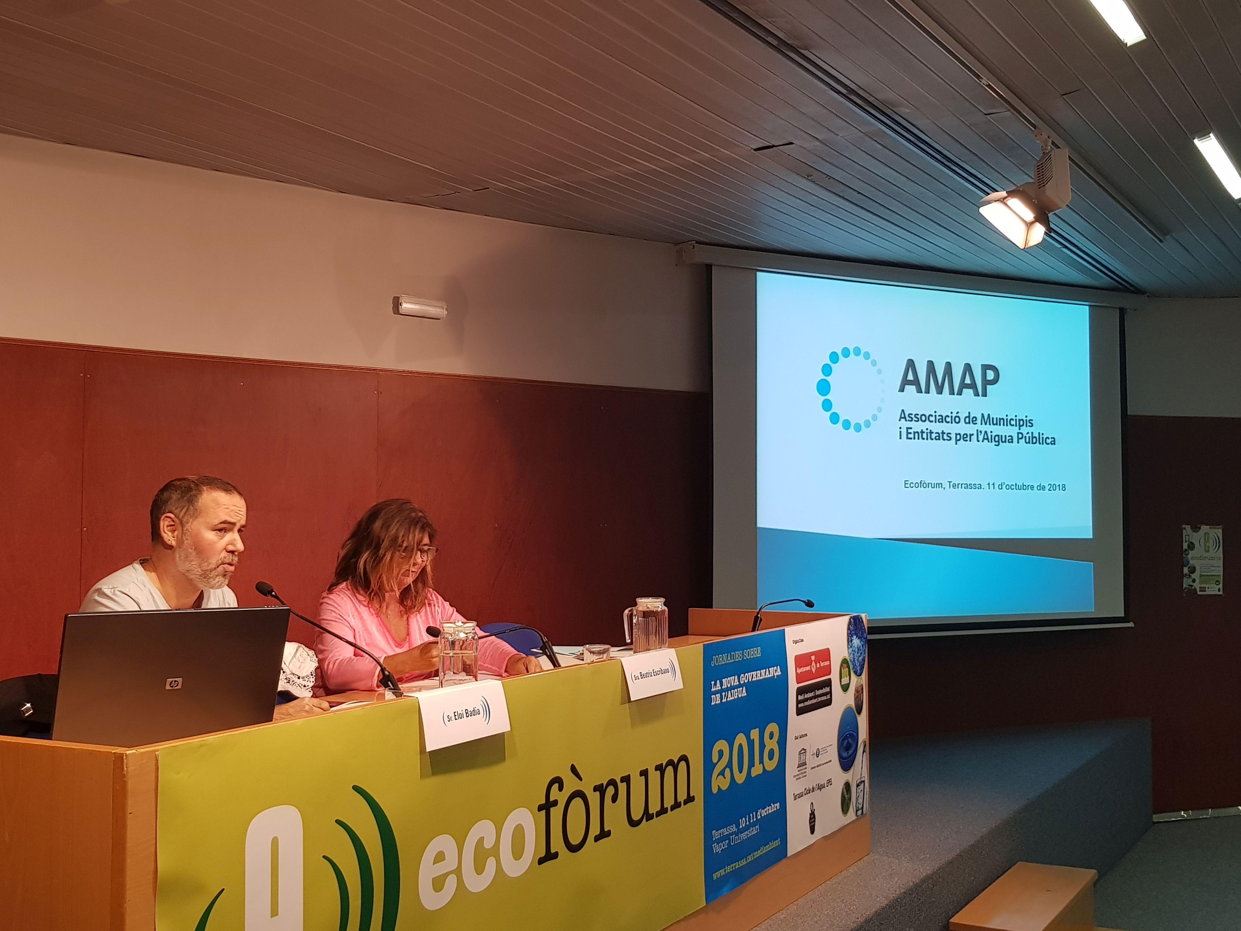 Jornada organitzada per l'AMAP