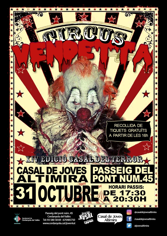 Promoció del circ Vendetta