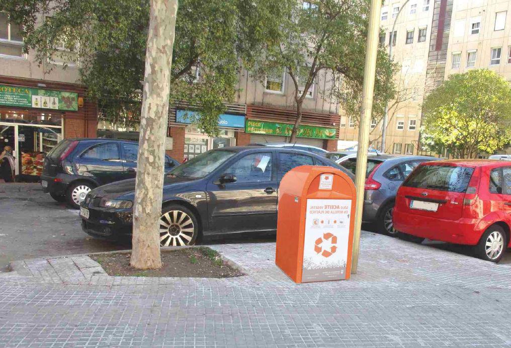 Simulació del contenidor que s'instal·larà a l'avinguda d'Espanya
