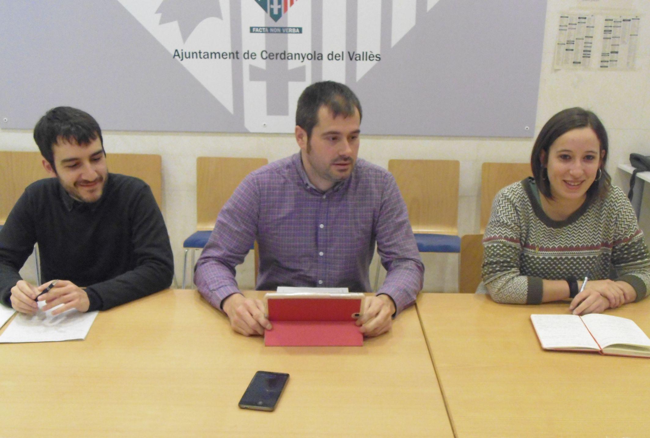 Ivan González, Carles Escolà i Laura Benseny
