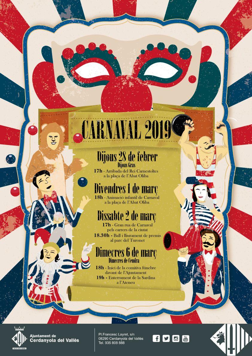 Cartell del carnaval 2019