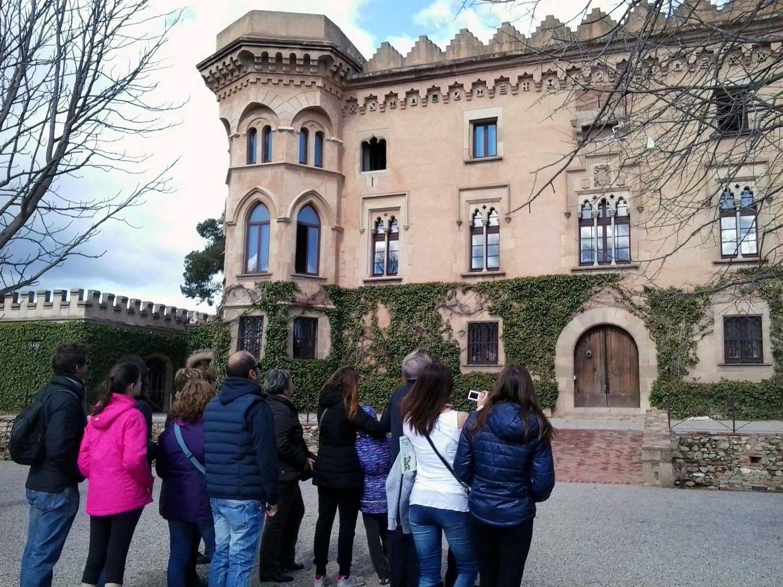 Visita al Castell de Sant Marçal. Foto d'arxiu.