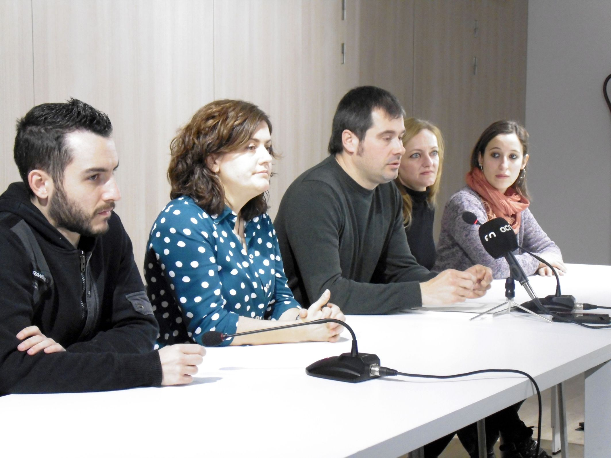 El govern municipal ha comparegut a la roda de premsa