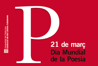 Adaptació del cartell Dia Mundial Poesia 2019
