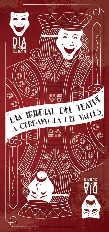 Imatge del Dia Mundial del Teatre a Cerdanyola