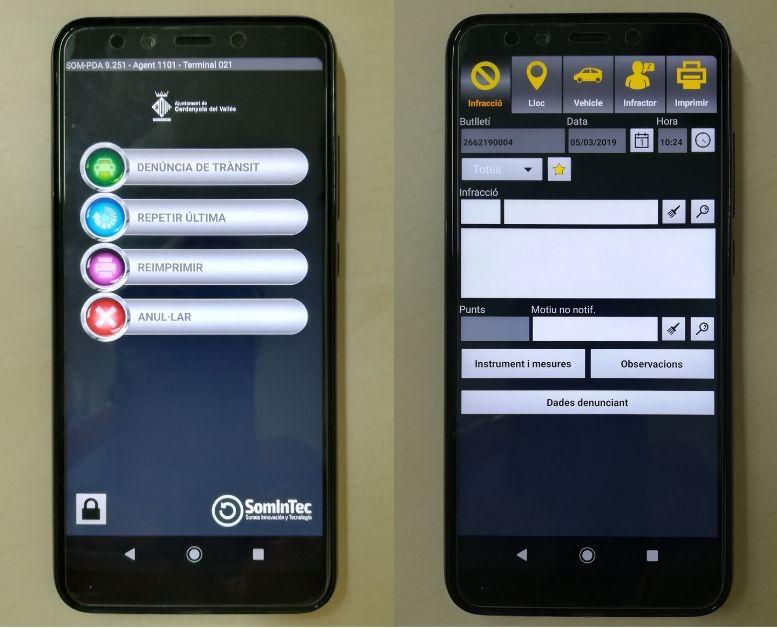Imatge amb captures dels nous aparells