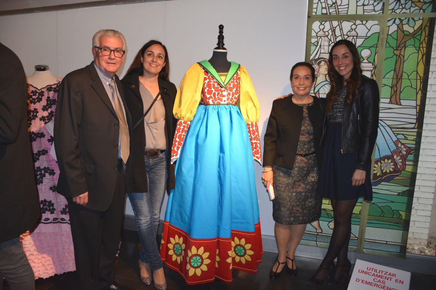 Josefina Xufré i la seva família