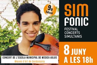 Adaptació cartell Concert Festival Simfònic EMM Aulos
