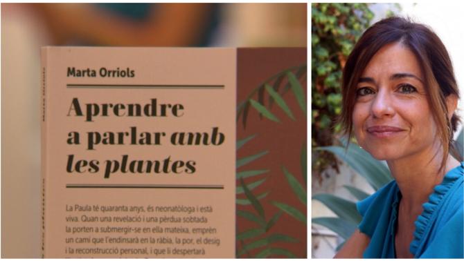 Composició amb la portada del llibre i una fotografia de l'autora