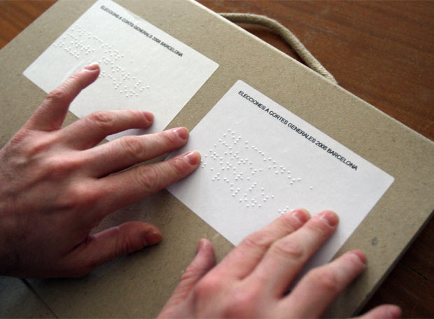 Imatge del vot braille
