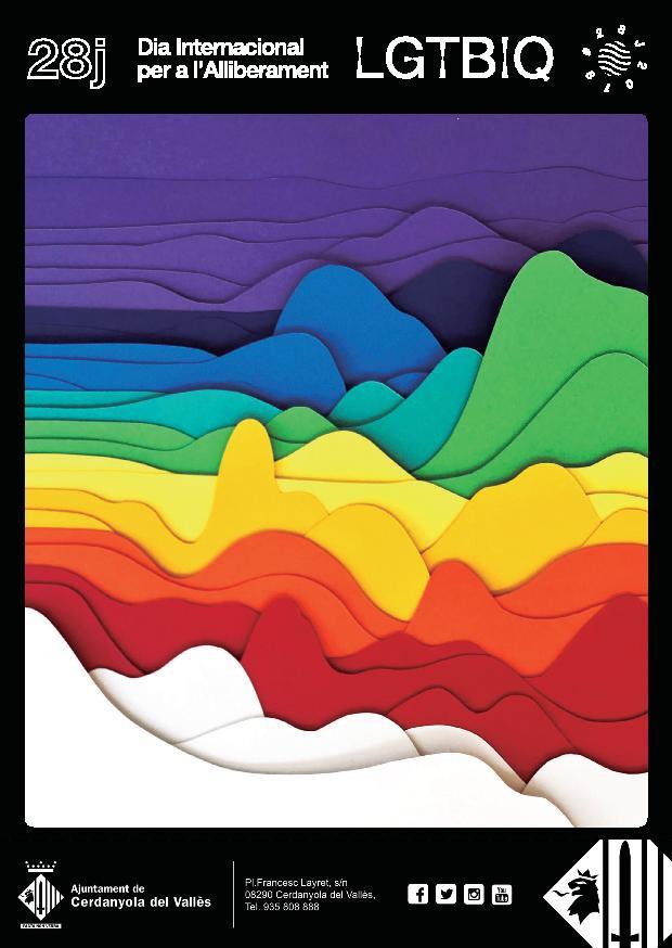 Cartell del Dia Internacional per a l'Alliberament LGTBIQ
