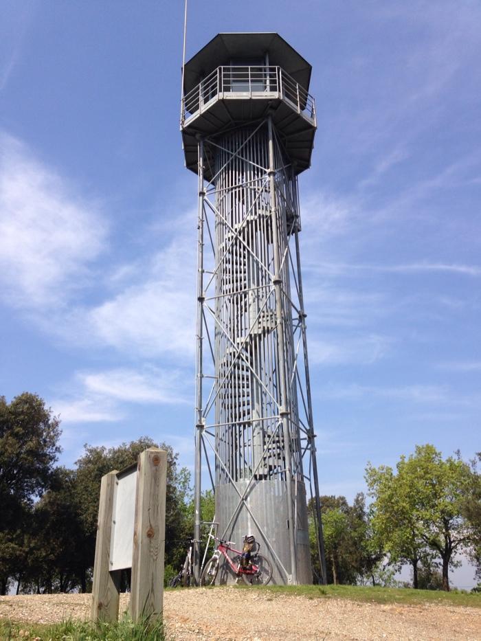 Torre de guaita del Puig de la Guàrdia (Foto MCATA)