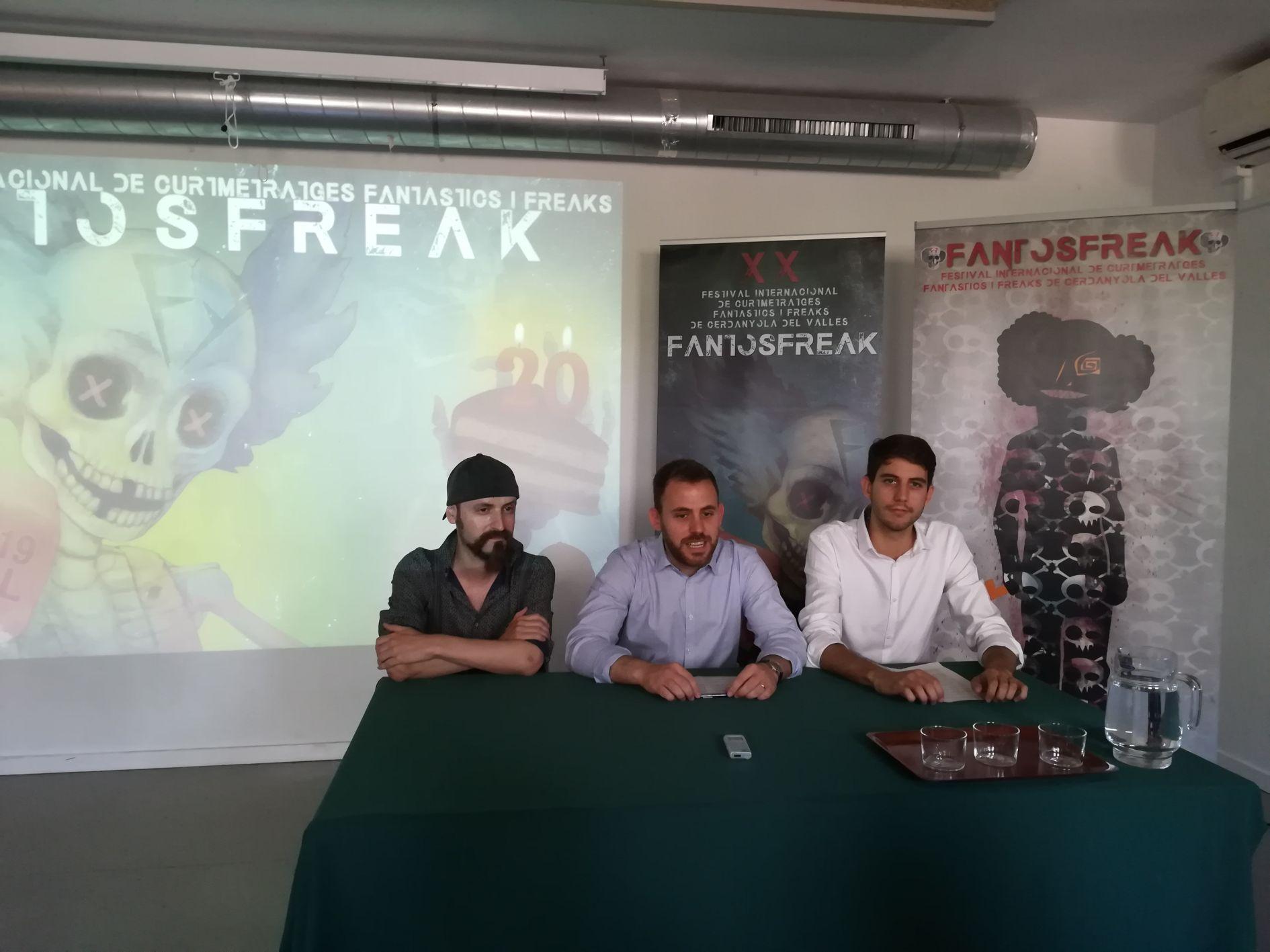 D'esquerra a dreta, Rafa Dengrà, Carlos Cordón i David González