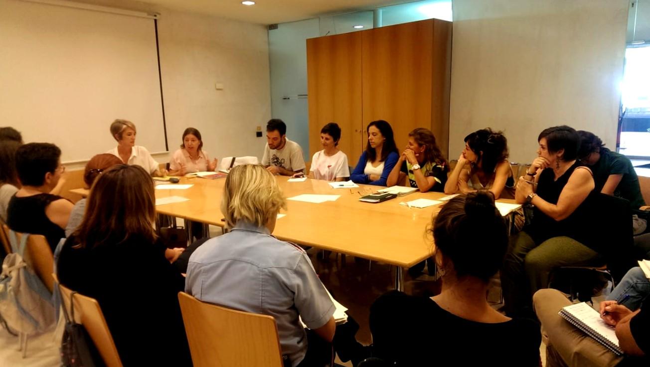 Reunió de treball per a l'actualització del Protocol d'Abordatge de les Violències Masclistes
