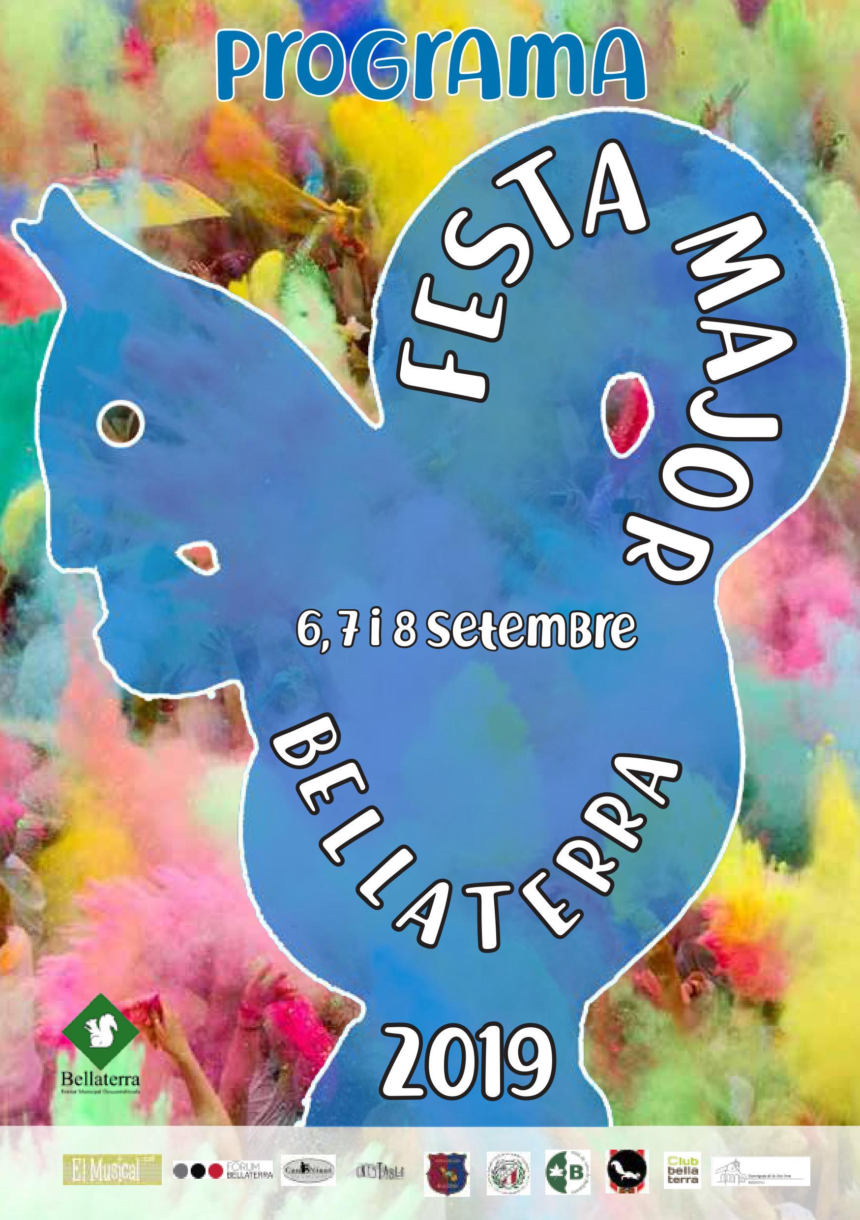 Cartell de la Festa Major de Bellaterra 2019