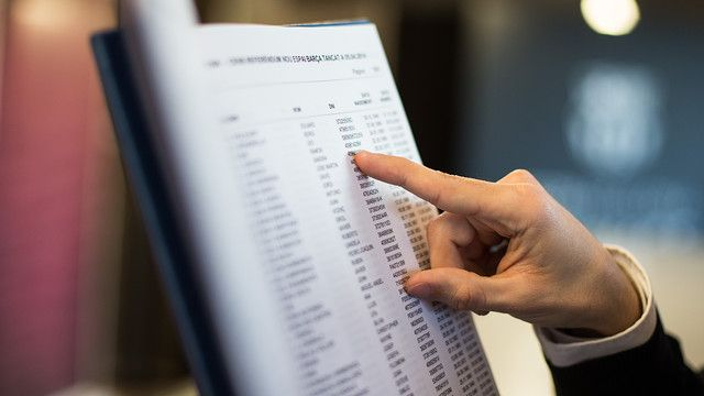 La consulta es pot fer a l'OAC o al web