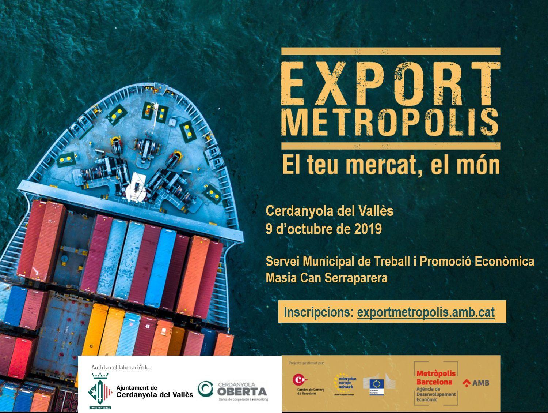 Imatge Exportmetròpolis a Cerdanyola del Vallès