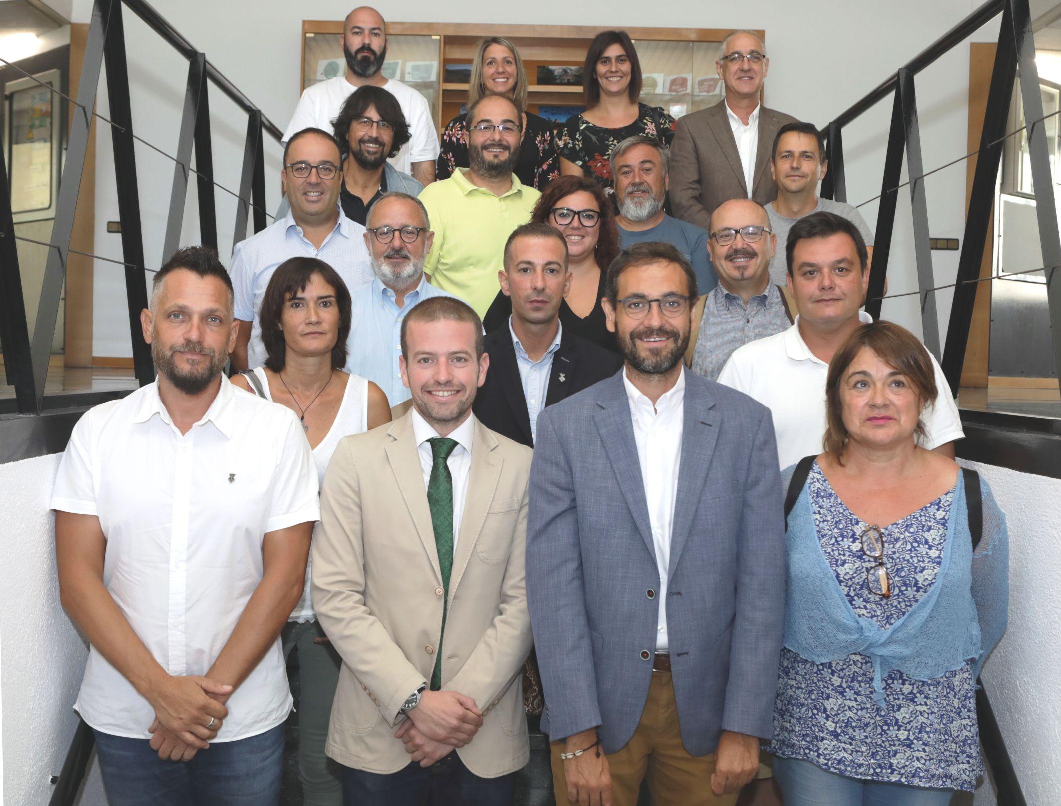 Foto de família de les persones integrants del nou Consell