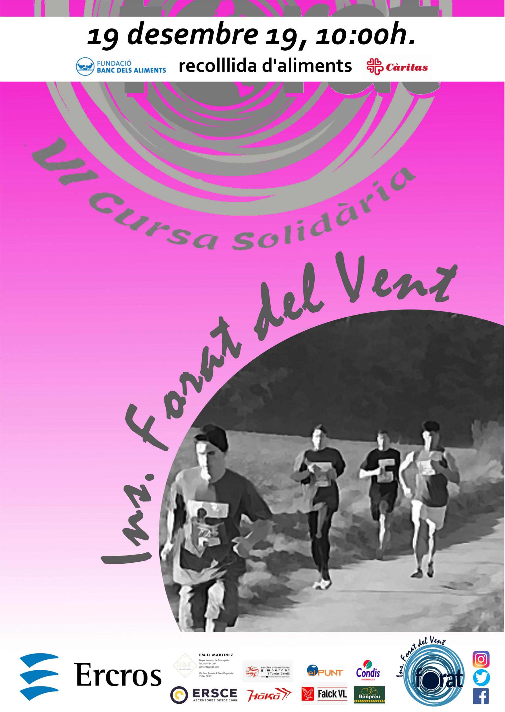 Cartell Cursa Solidària