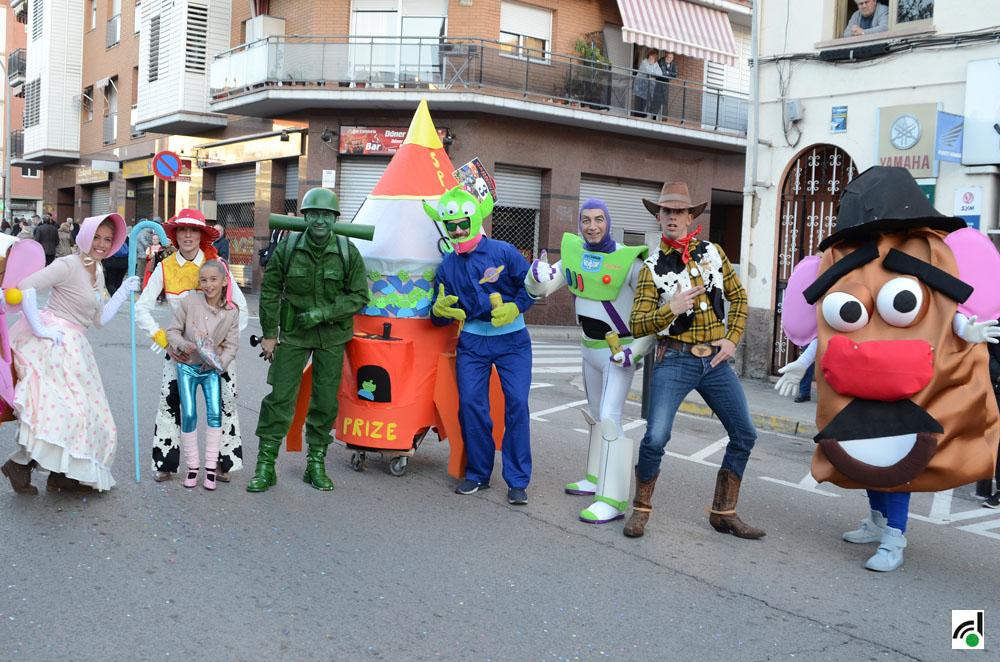 Comparsa de Carnaval. Imatge d'arxiu.
